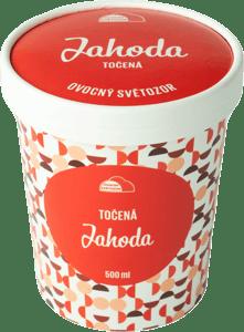 Ovocný Světozor zmrzlina jahodová