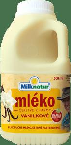 Milknatur Čerstvé mléko vanilkové