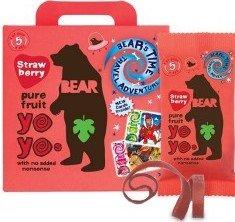 Bear YOYO želé - jahoda 5x20g