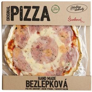 Jitulčiny dobroty Šunková bezlepková pizza mražená