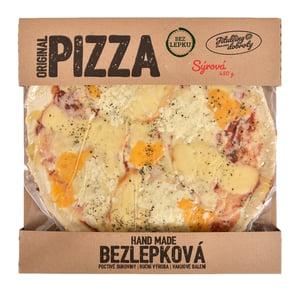 Jitulčiny dobroty Sýrová bezlepková pizza mražená