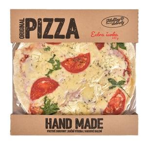 Jitulčiny dobroty Extra šunková pizza mražená