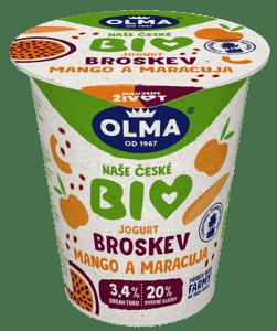 Olma BIO Jogurt broskev-mango-maracuja