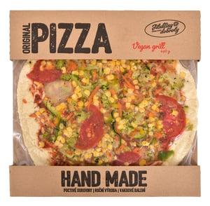 Jitulčiny dobroty Grill zelenina pizza mražená