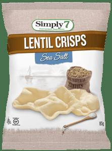 Simply 7 Čočkové chipsy s mořskou solí