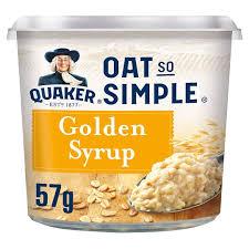 Quaker Porridge To Go Golden Syrup