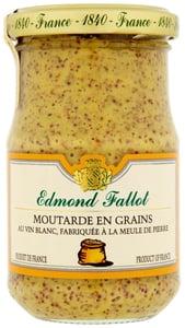 Edmond Fallot Hrubozrnná hořčice s bílým vínem