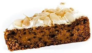 Sklizeno Mrkvový dort se šlehaným tvarohovým krémem