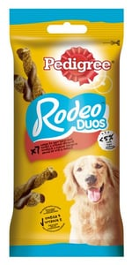 Pedigree Rodeo DUO Žvýkací tyčinky pro psy s hovězím