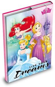 Desky na sešity A4 - Disney princezny