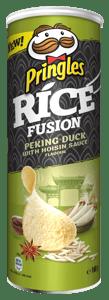 Pringles rýžové s příchutí pekingské kachny a Hoisin omáčky