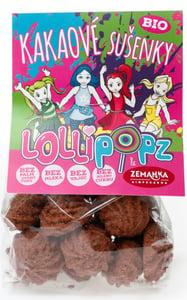 Zemanka BIO Kakaové sušenky Lollipopz