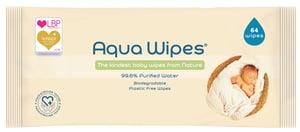 Aqua Wipes EKO vlhčené ubrousky s 99,6 % vody