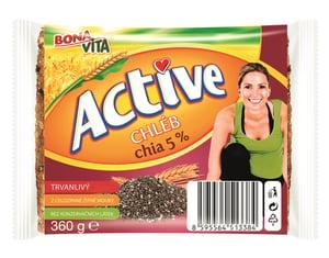 Bonavita Active Chia chléb 5%