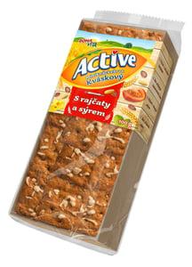 Bonavita Active Miniknäckebrot s rajčaty a sýrem