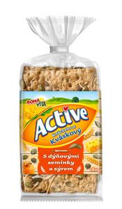 Bonavita Active Knäckebrot dýňová semínka a sýr