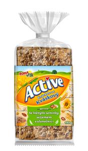 Bonavita Active Knäckebrot lněná semínka, sezam a slunečnice