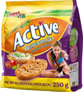 Bonavita Active Křehké rohlíčky špaldové