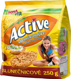 Bonavita Active Křehké rohlíčky slunečnicové