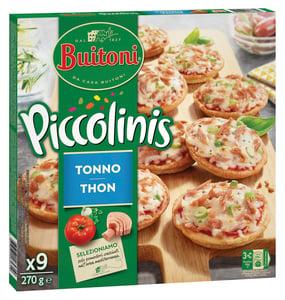 Buitoni Piccolinis Tonno mini pizzy 9ks
