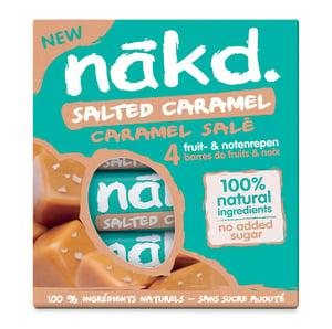 Nakd Salted caramel multipack 4x35g