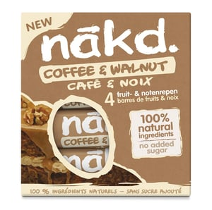 Nakd Coffee & walnut multipack 4x35g
