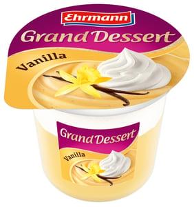 Ehrmann Grand Dessert puding dezert se šlehačkou Vanilka