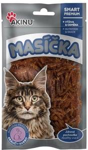 AKINU Králičí nudličky pro kočky