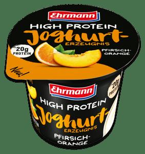 Ehrmann High Protein jogurt Broskev - Pomeranč