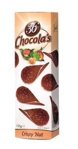 36 Chocola's Čoko chipsy lískový oříšek