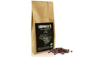 Coffee UP! BIO Brazil Senhora de Fatima čerstvě pražená 100% arabica v kompostovatelném obalu