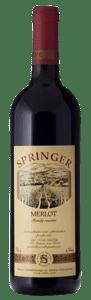 Springer Merlot 2016 pozdní sběr