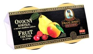 Franz Josef Kaiser Ovocný koktejl v mírně sladkém nálevu duo pack