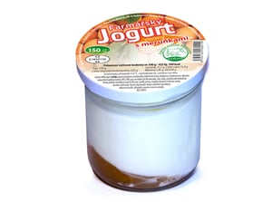Farma rodiny Němcovy Jogurt s meruňkami