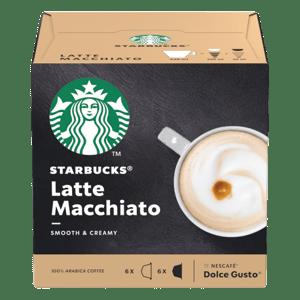 Starbucks Latte Macchiato by Nescafe Dolce Gusto - kávové kapsle