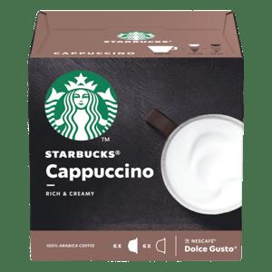 Starbucks Cappuccino by Nescafe Dolce Gusto - kávové kapsle