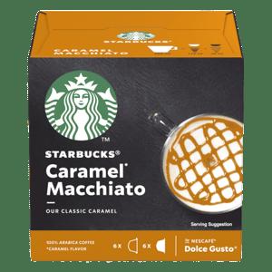 Starbucks Caramel Macchiato by Nescafe Dolce Gusto - kávové kapsle