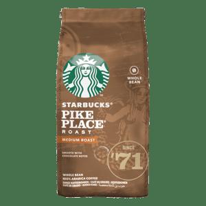 Starbucks Pike Place Espresso Roast zrnková káva