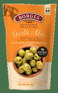 Borges Mediterranean Snacking Olivy - Garlic Mix