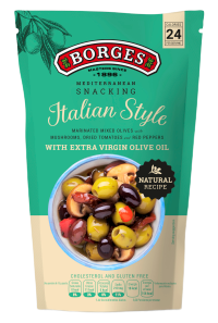 Borges Mediterranean Snacking Olivy - Italian Style