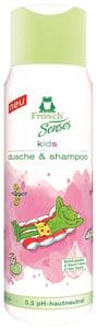 Frosch EKO Senses Sprchový gel a šampon pro děti - růžový
