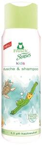 Frosch EKO Senses Sprchový gel a šampon pro děti - zelený