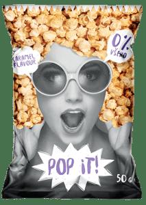 Pop It Popcorn Karamelový