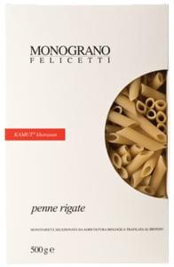Monograno Felicetti BIO Penne Rigate kamutové