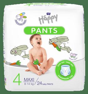 Bella Baby HAPPY Plenkové kalhotky Maxi 8 -14kg (velikost 4)