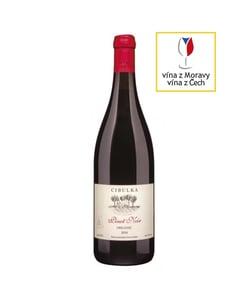 VINO CIBULKA BIO Pinot Noir Organic 2018 výběr z hroznů