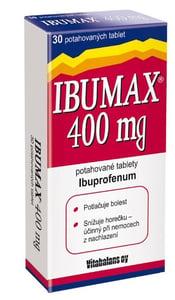 IBUMAX 400MG potahované tablety 30