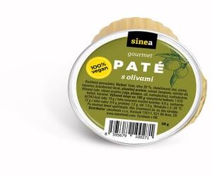 Sinea pomazánka Gourmet Paté s olivami