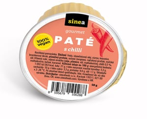 Sinea pomazánka Gourmet Paté s chilli