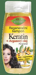 Bione cosmetics BIO Arganový olej + Karité regenerační šampon